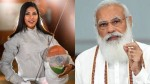 வாளை பரிசளித்த பவானி... ஜான்சி ராணி .... 'ஜான்சி ராணி நீ' வாழ்த்திய பிரதமர் மோடி!