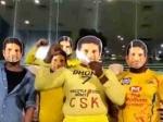 VIDEO: சச்சின்... சச்சின்... ! பிறந்த நாள் வாழ்த்துகள் சொன்ன விசில் போடு ஆர்மி