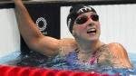 ஒலிம்பிக் வரலாற்றில் முதன்முறை.. 1,500-meter நீச்சல் போட்டி.. தங்கம் வென்று சாதித்த முதல் பெண்