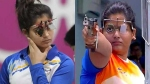 ஒலிம்பிக் 25மீ பெண்கள் துப்பாக்கி சூடு.. இந்தியாவின் மனு பாகர், ரகி தோல்வி அடைந்து வெளியேற்றம்!