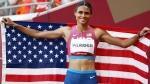 51.46 நொடி.. பெண்கள் 400மீ தடை தாண்டும் ஓட்டத்தில்.. அமெரிக்காவின் மெக்லாகின் அசாத்திய உலக சாதனை!