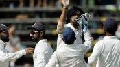 வெஸ்ட் இண்டீசை வாரி சுருட்டிய இஷாந்த், யாதவ்..!! வலுவான நிலையில் இந்தியா..!!