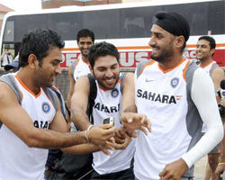 Sports Indian Team Arrives In Canberra For Practic