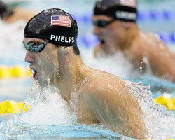 Sports Michael Phelps Made It Six For Six At The Beijing