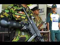 Sports Vvip Security For Pakistan Team In Lanka