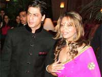 Shah rukh Khan and Gauri