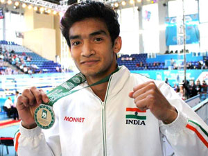 Sports Indian Boxer Shiva Thapa Inspired M