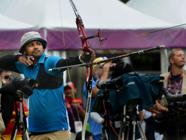 Sports India Men Archers Lose After Exciti