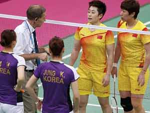 Sports Chinese South Korean Pairs Try Lose Secure Quarterfinal