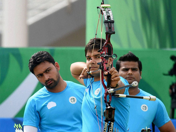 Compound Archery Gold India Individual Silver Abhishek Verma