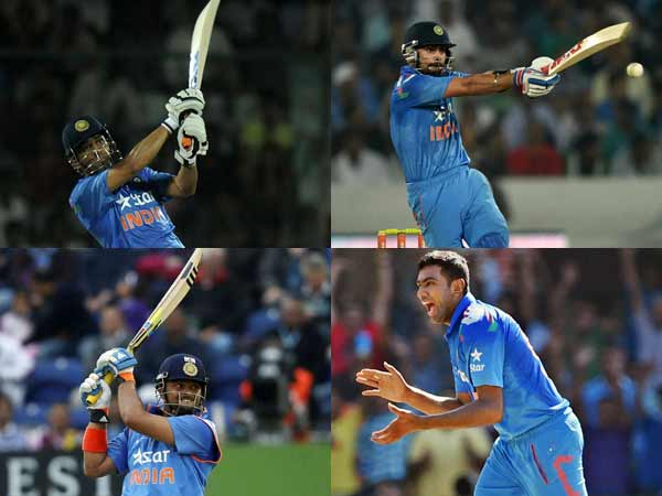 Only 4 Players Are Picked From India S 2011 World Cup Squard