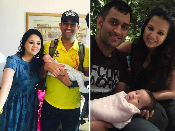 Have You Seen Ms Dhoni S Daughter S First Official Picture Yat