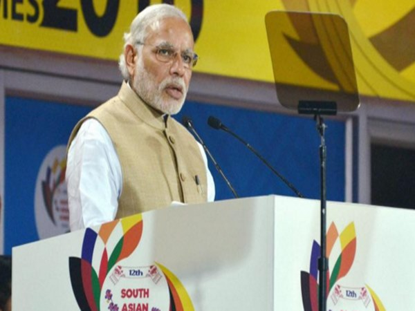 Modi inaugurated South Asian Games 2016
