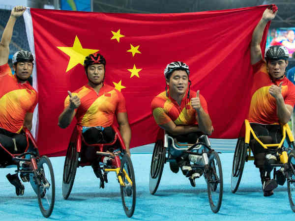 China Tops Rio Paralympics Medal Tally