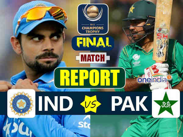 Champions Trophy 2017: India vs Pakistan Final-live