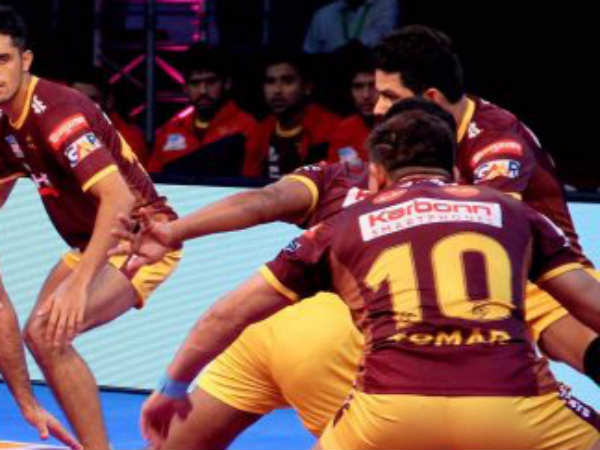 U P Yoddha Loses To Jaipur Pink Panthers
