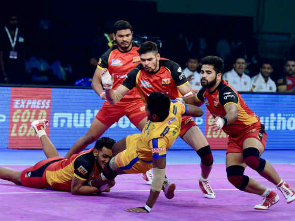 Tamil Thalaivas Ends Chennai Leg With No Win