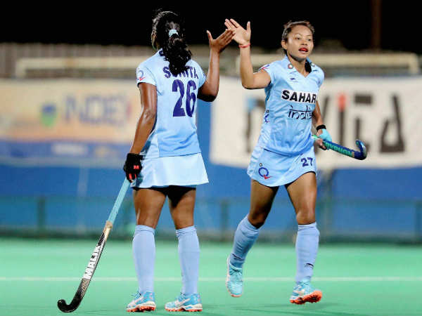 India Win Women S Hockey Asia Cup