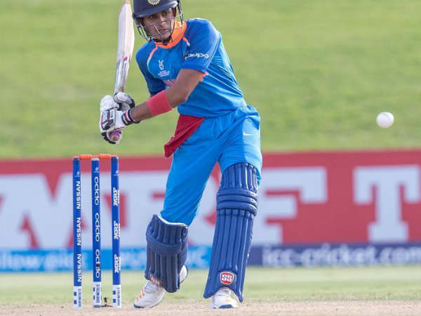 Shubman Gill Showed Best Batting Under 19 Wc