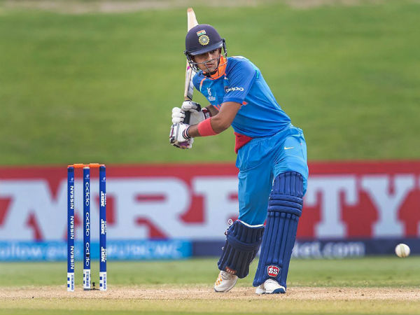 Shubman Gill Reproduced Kohli Shot Under 19 Wc