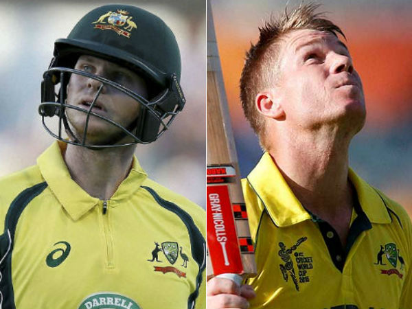 Australia cricket board banned Steve smith and David warner to play for a year