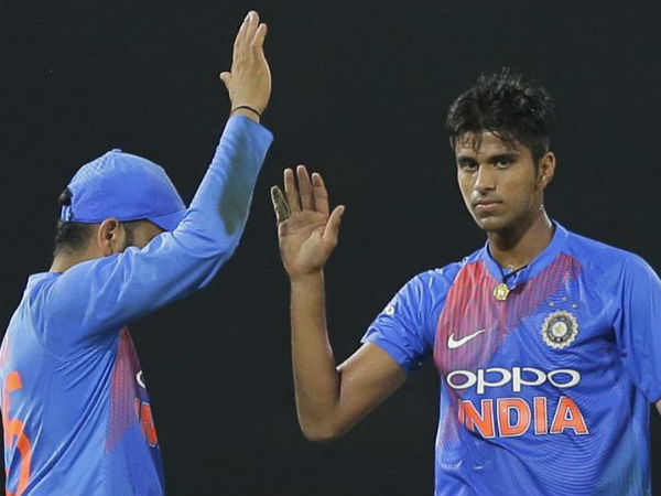 Washington Sundar Becomes The Youngest Player Get Man The Series