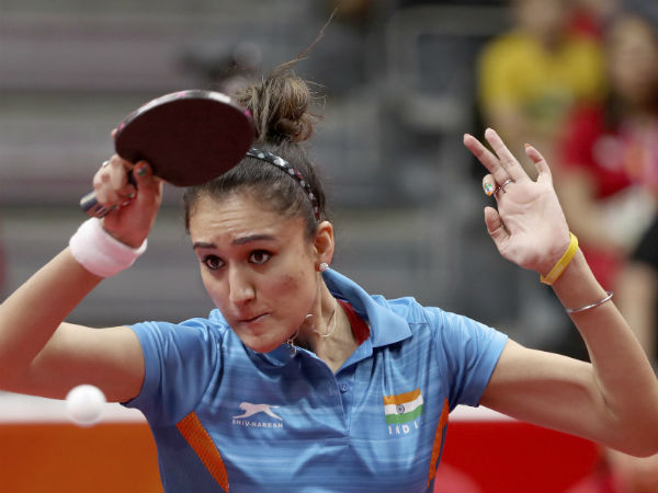 Indian table tennis teams in the quarters of CWG