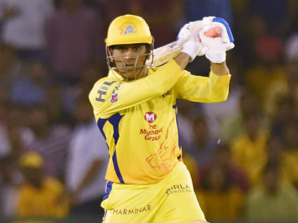 New hat-trick for CSK captain MS Dhoni