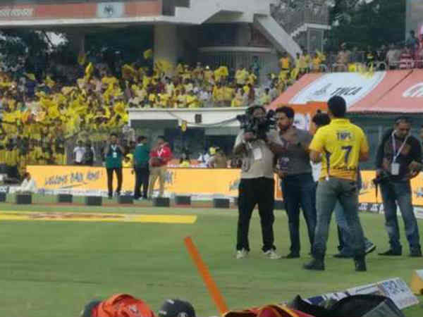 IPL protest tense reduced and match to start