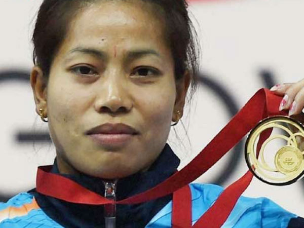 Record Breaking Sanjita Chanu Bags Second Gold India