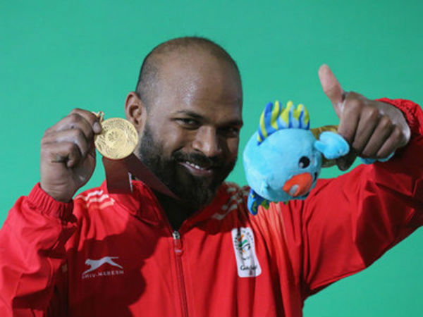 Sathish Sivalingam retains his Gold in the CWG