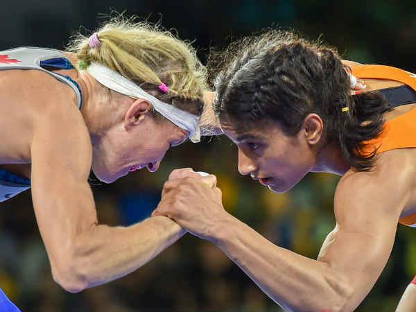 India grabbed all medals in the CWG wrestling