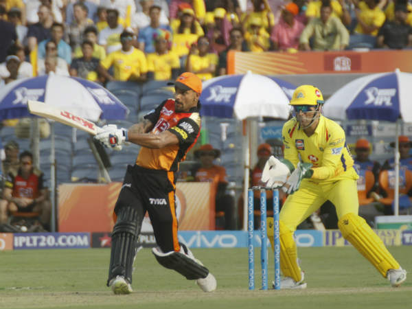 Chennai Playing Against Hyderabad Ipl