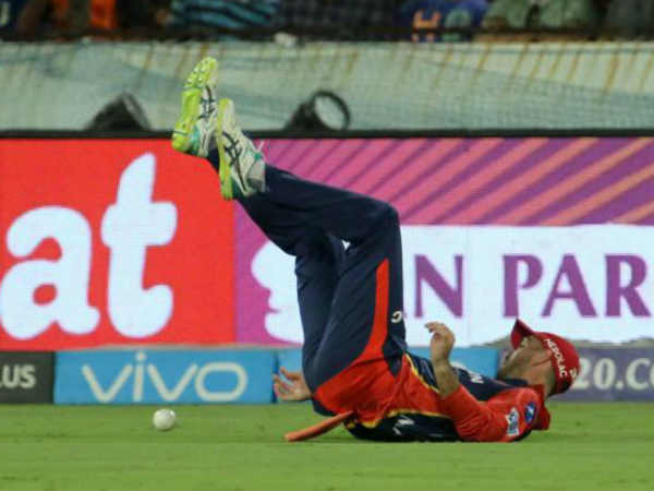 Analysis on dropped catches on this IPL
