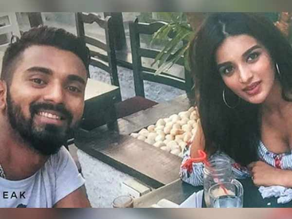 Rahul Roams Around With Actor Nidhhi Agerwal