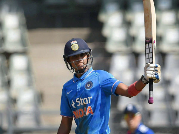 Prithvi and shubman elevated to India A team