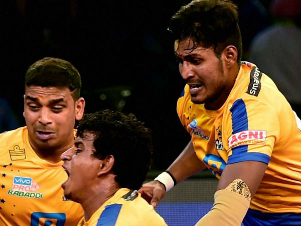 Tamil thalaivas team for the pro kabaddi league season 6