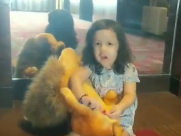 Ipl 2018 Dhoni S Daughter Ziva Video Becomes Viral Amidst Final Fever
