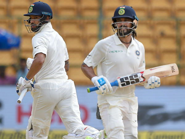 Ind Vs Afg India Chooses Bat Bengalure Test Against Afghani