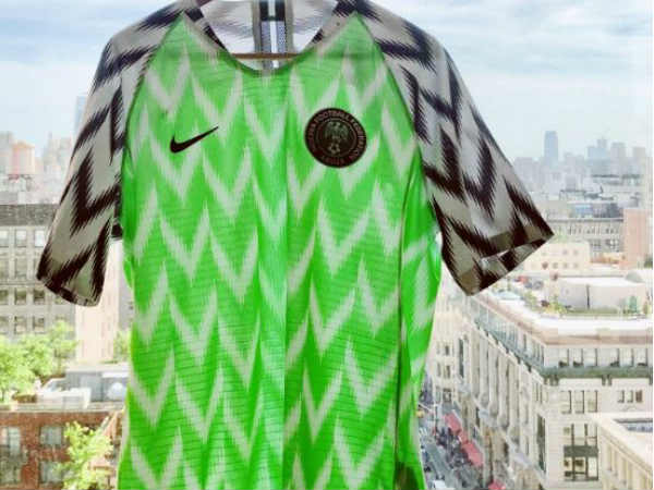 Nigeria bags the best fashionable team in the fifa world cup