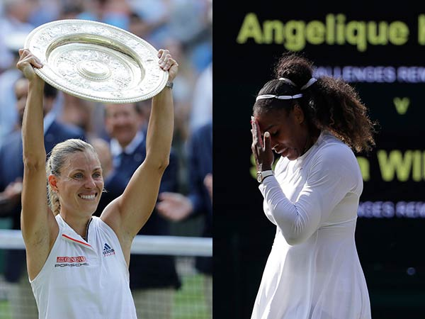 Kerber Beats Serena Williams The Finals Wimbledon
