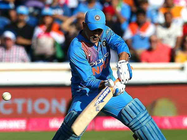 Dhoni Criticised For Playing A Slow Innings In The Second Odi