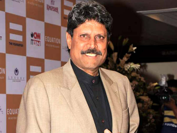 Kapildev to represent india again