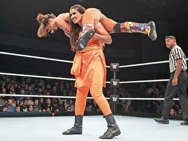indian girl kavita devi will fight in mae young classic wwe event