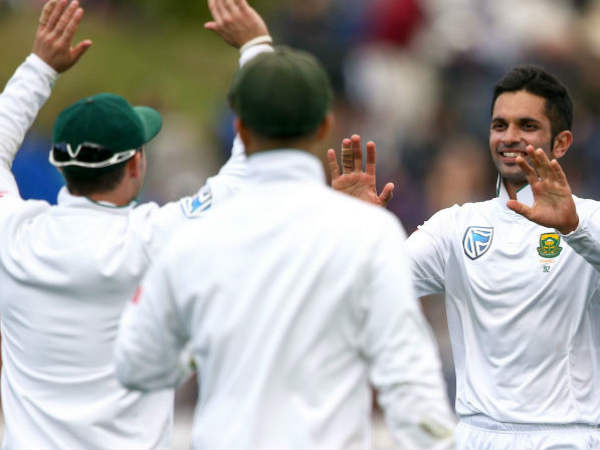 9 wickets for kesav maharaj in an innings