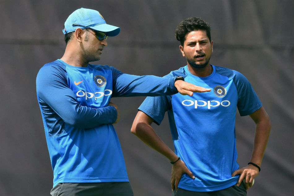 Kuldeep yadav recollects the dhoni angry moment