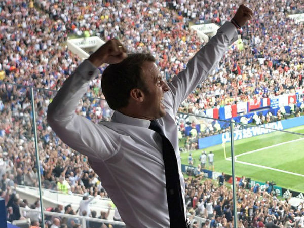 Fifa World Cup Final Viral Post Celebrations France Croatia Presidents