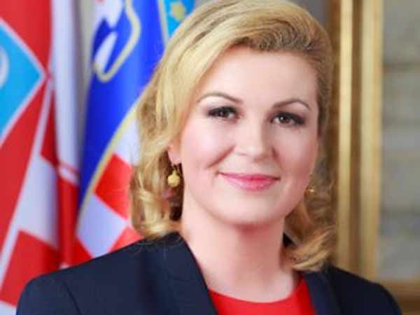 picture of croatian president in bikini goes viral