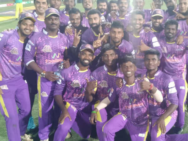 first win for vb kanchi veerans in the tnpl third season