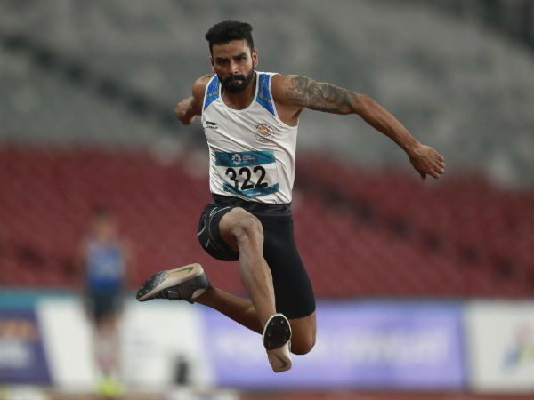 Asian Games 2018 - Arpinder singh won Gold in Triple Jump. Tenth gold for India
